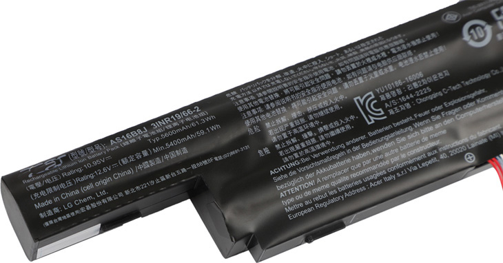 replacement Acer NX.GX0SN.002 battery