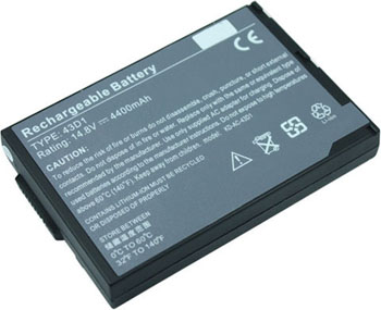 Battery for Acer 60.49S17.021 laptop