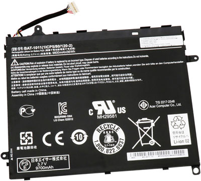 Battery for Acer 1ICP5/80/120-2 laptop